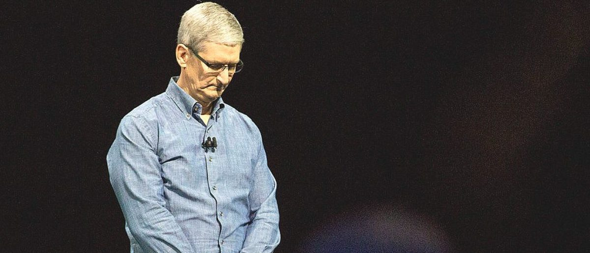 SAN FRANCISCO, CA - JUNE 13: Apple CEO Tim Cook [Andrew Burton/Getty Images]
