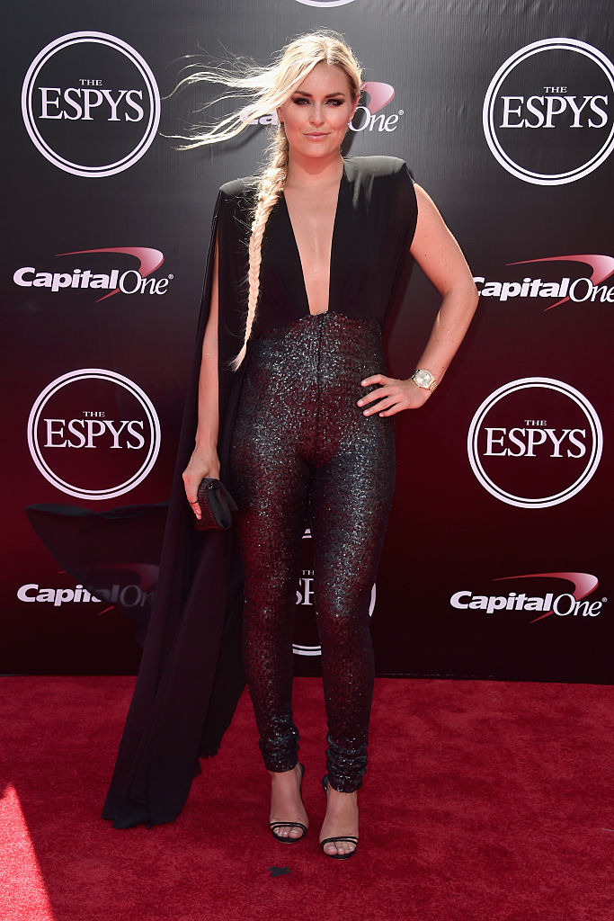 Skiier Lindsey Vonn attends the 2016 ESPYS at Microsoft Theater on July 13, 2016 in Los Angeles, California. (Photo by Alberto E. Rodriguez/Getty Images)