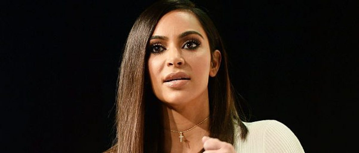 Kim Kardashian West speaks during the #BlogHer16 Experts Among Us conference at JW Marriott Los Angeles at JW Marriott Los Angeles at L.A. LIVE on August 5, 2016 in Los Angeles