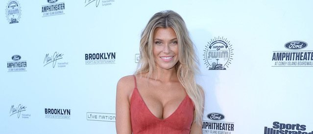 NEW YORK, NY - AUGUST 28: Samantha Hoopes attends Sports Illustrated Swimsuit Summer of Swim Fan Festival and Concert at Coney Island Beach and Boardwalk on August 28, 2016 in Brooklyn, New York. (Photo by Andrew Toth/Getty Images for Sports Illustrated)