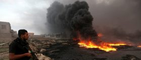ISIS Creates Hell On Earth By Setting Oil Fields On FIRE [PHOTOS]