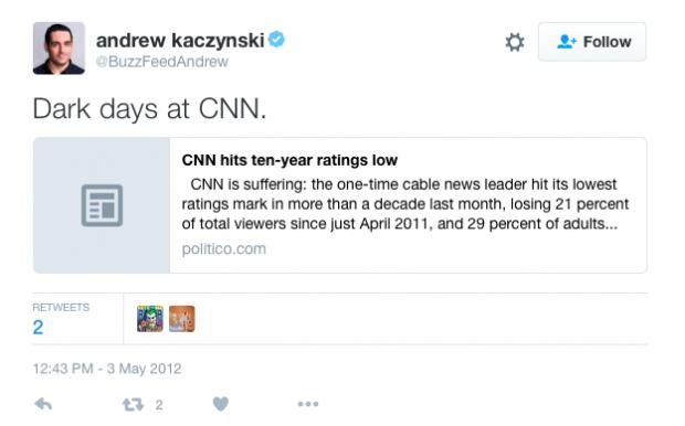 Andrew Kaczynski and Team Leave BuzzFeed for CNN