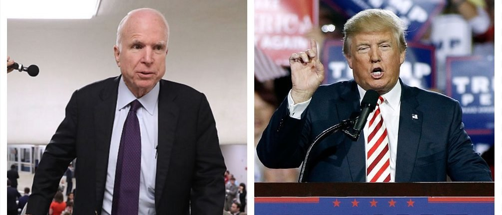 John McCain, Donald Trump (Getty Images)