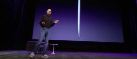Steve Jobs wore New Balance (YouTube Screenshot)