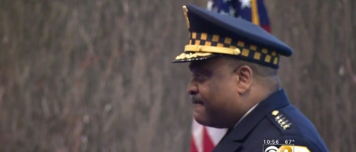 Chicago Police Superintendent Ernie Johnson (screenshot: CBS)