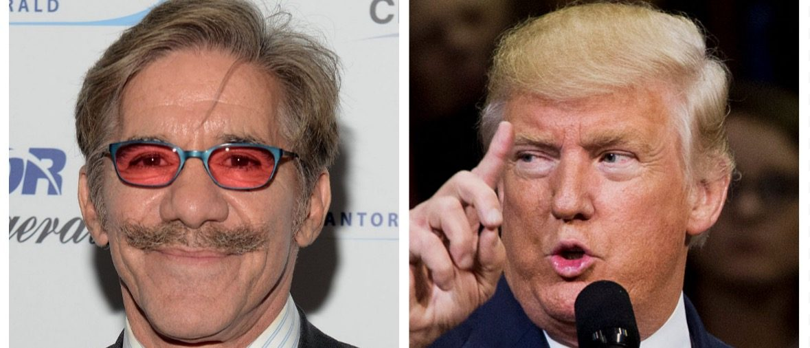 Geraldo Rivera, Donald Trump (Getty Images)
