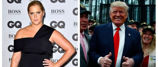 Amy Schumer, Donald Trump (Getty Images)