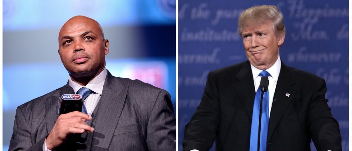 Charles Barkley, Donald Trump (Credit: Getty Images)