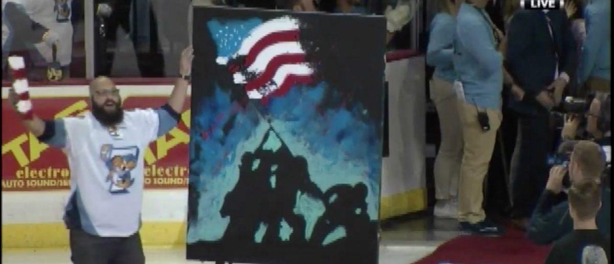 ECHL (Credit: Screenshot/Twitter video Jordan Strack)