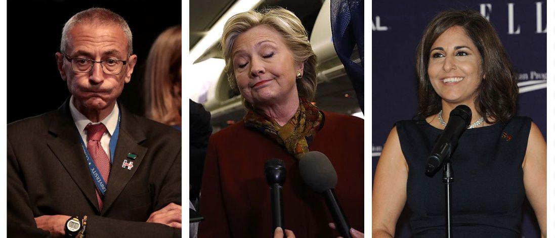 John Podesta, Hillary Clinton, Neera Tanden (Getty Images)