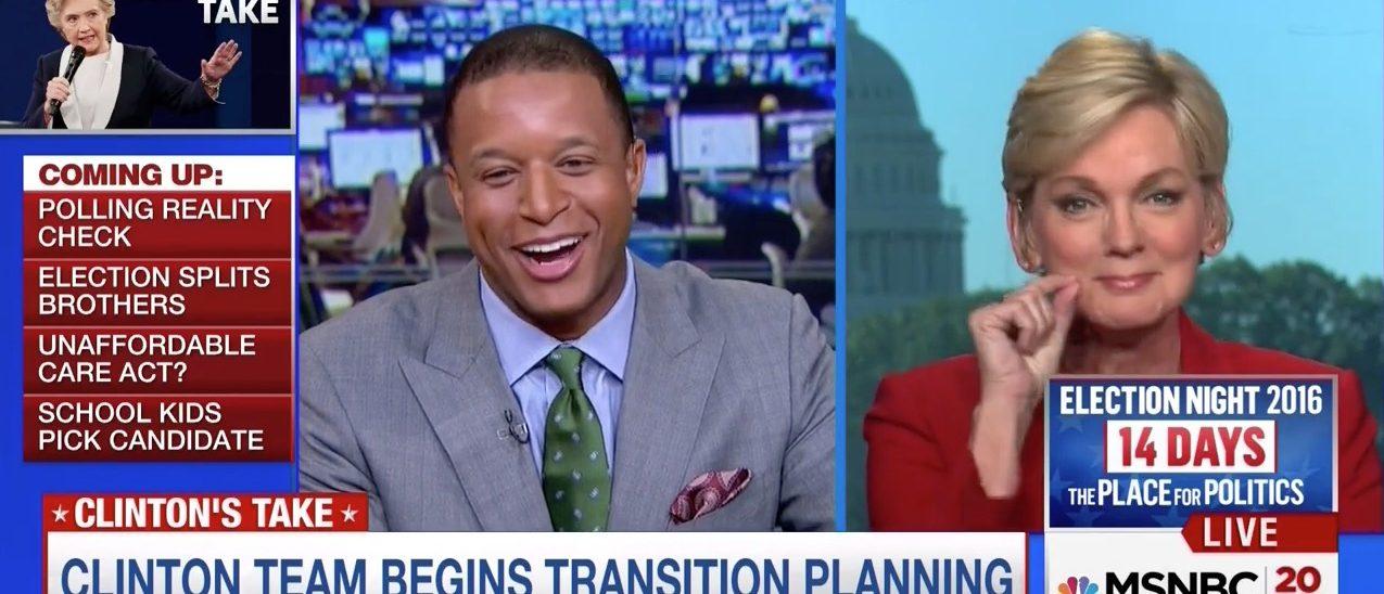 Craig Melvin, Jennifer Granholm (MSNBC)
