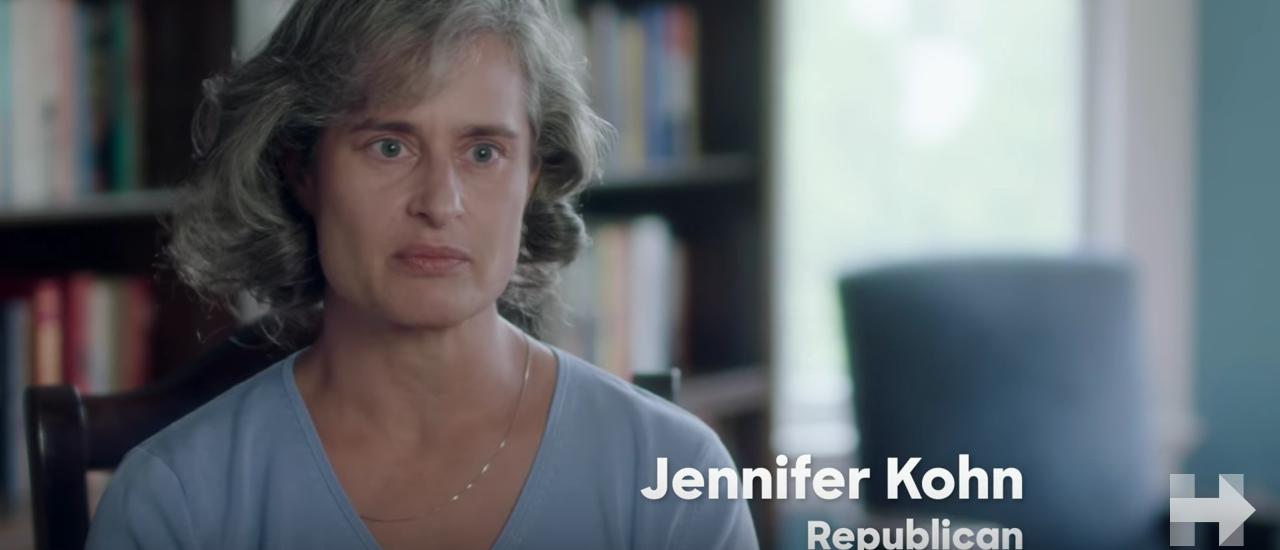 Jennifer Kohn (Youtube screengrab/ Hillary Clinton)