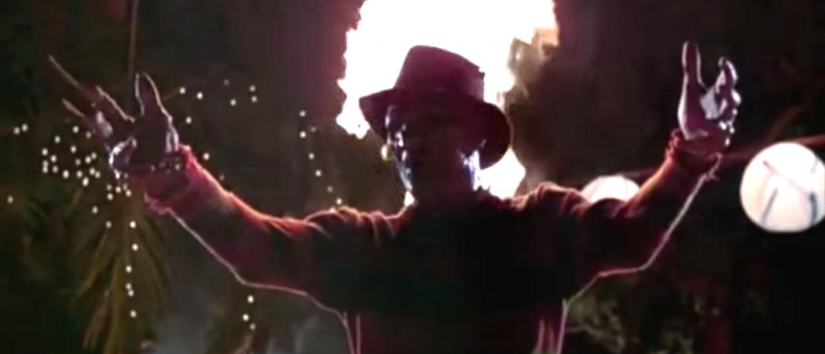 Freddy Krueger in A Nightmare On Elm Street 2 YouTube Screengrab/Movieclips Trailer Vault