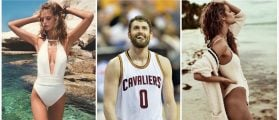 Kevin Love Spends Time Off Court With His Supermodel Girlfriend