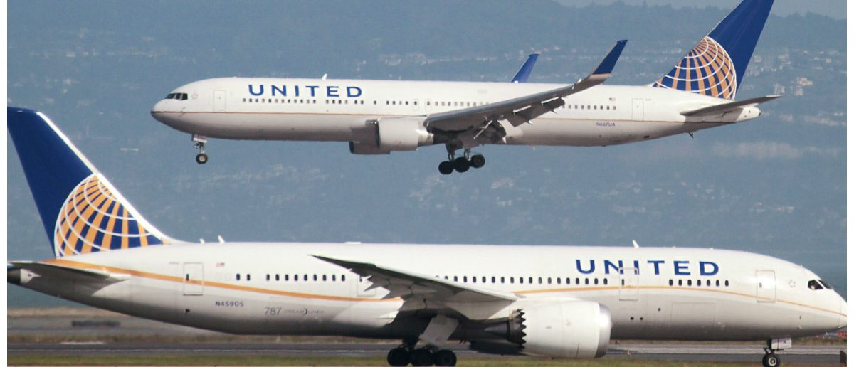United Airlines: Louis Nastro/Reuters