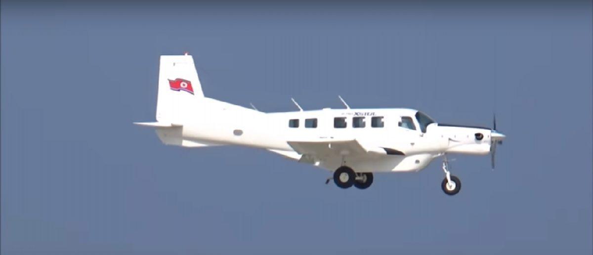 A P-750 XSTOL participating in the Wonsan International Friendship Air Festival (Youtube screenshot)