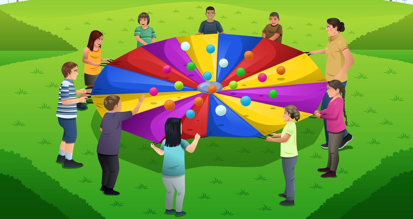 rainbow parachute Shutterstock/Artisticco