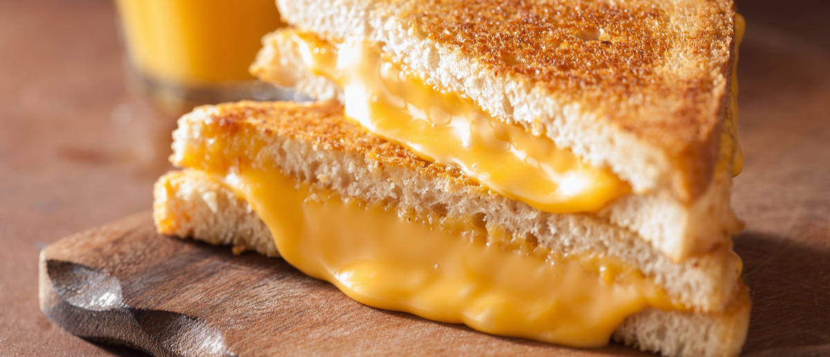 Grilled Cheese (Credit: Olga Miltsova/Shutterstock)