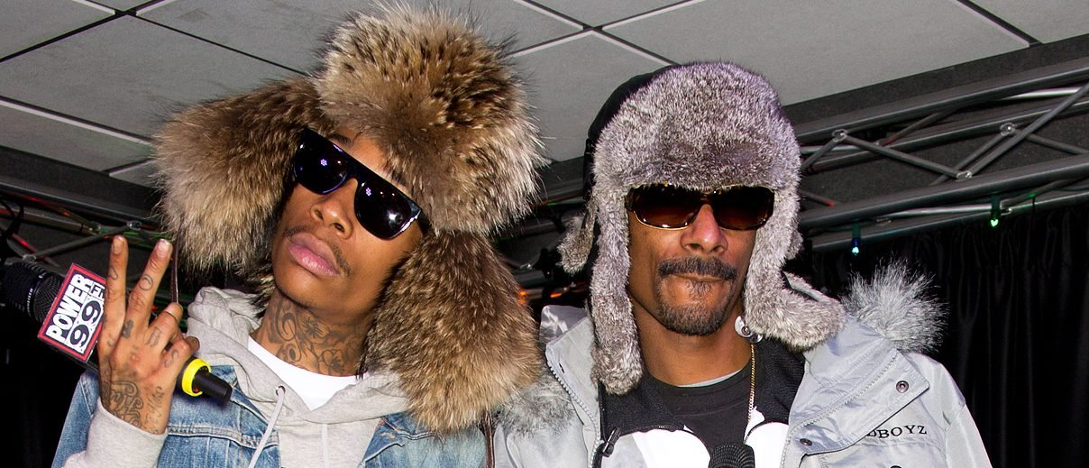Snoop Dogg and Wiz Khalifa (Photo credit: Splash News)