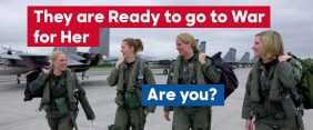 #DraftOurDaughters Is The Perfect Hashtag For Today's Military Social Engineering