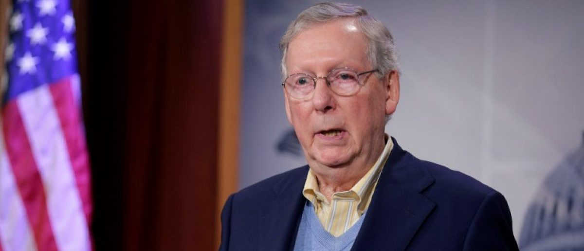 Senate Majority Leader Mitch McConnell (R-KY) speaks about the election of Donald Trump in the U.S. presidential election in Washington, U.S., November 9, 2016.
