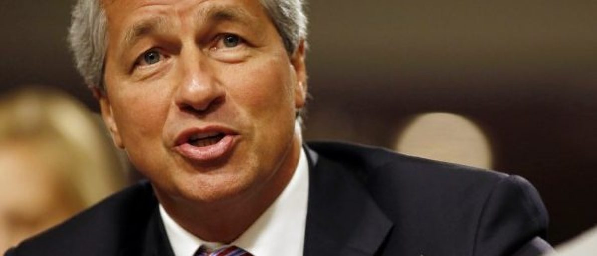 JP Morgan Chase and Company CEO Jamie Dimon answers a question at the U.S. Senate Banking, Housing and Urban Affairs Committee hearing on Capitol Hill in Washington DC, June 13, 2012. REUTERS/Larry Downing/File Photo