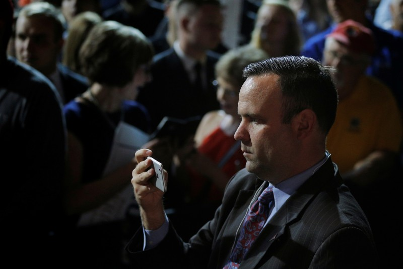 Dan Scavino, campaign director of social media and senior advisor, has been named director of social media of the transition team. REUTERS/Brian Snyder