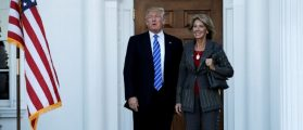Trump Ed Sec Pick Promises To Stop Common Core At 'Thank You' Rally