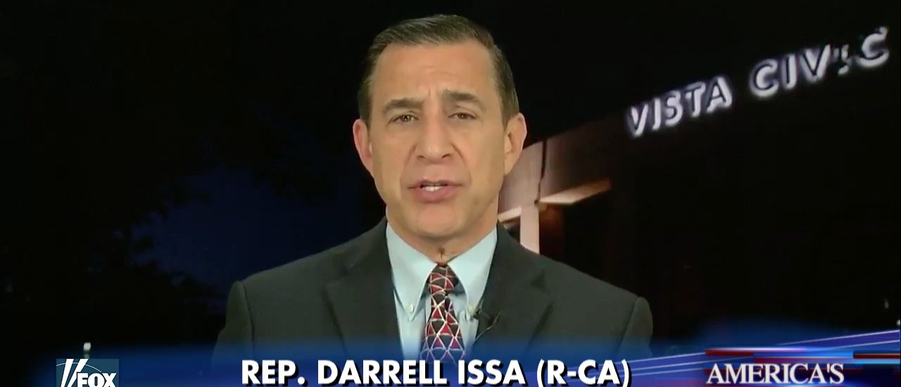 Darrell Issa Fox and Friends