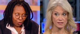 The Women Of 'The View' Turn On Kellyanne Conway: You Sound 'Delusional'