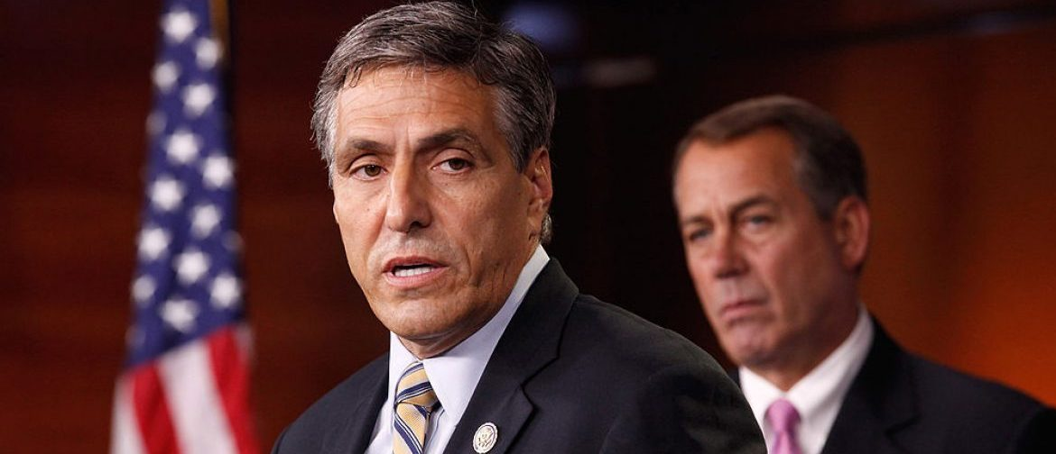 Lou Barletta speaks at a press conference on Capitol Hill on September 23, 2011 (Getty Images)