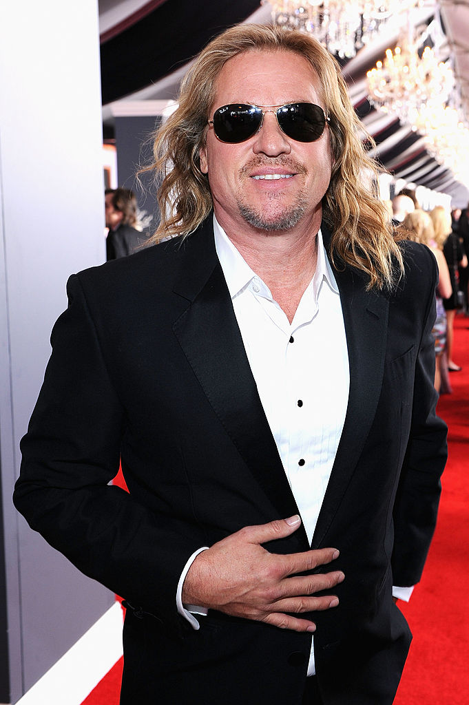 Actor Val Kilmer arrives at the 54th Annual GRAMMY Awards. (Photo by Larry Busacca/Getty Images For The Recording Academy)