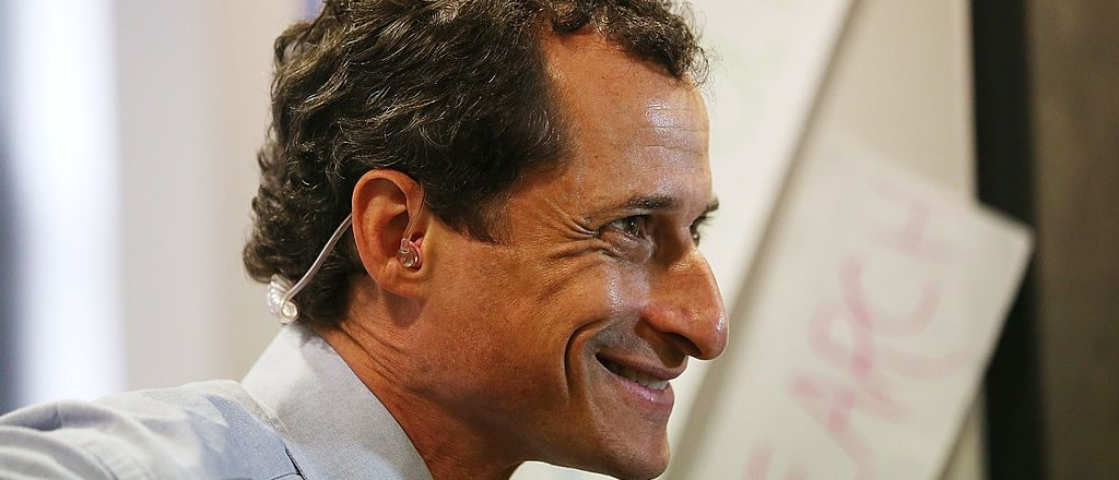 Weiner Stands Erect, Head Held High, As He Leaves Halfway House On His Way To A Better Life