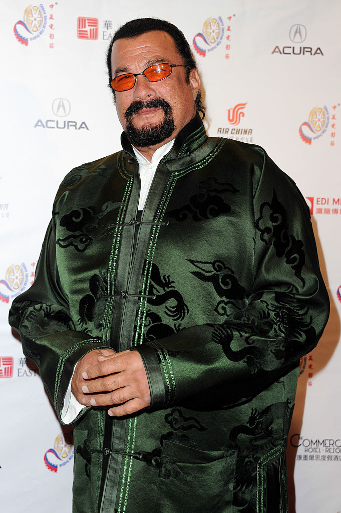 Actor Steven Seagal is now a Russian citizen. (Photo by Allen Berezovsky/Getty Images)