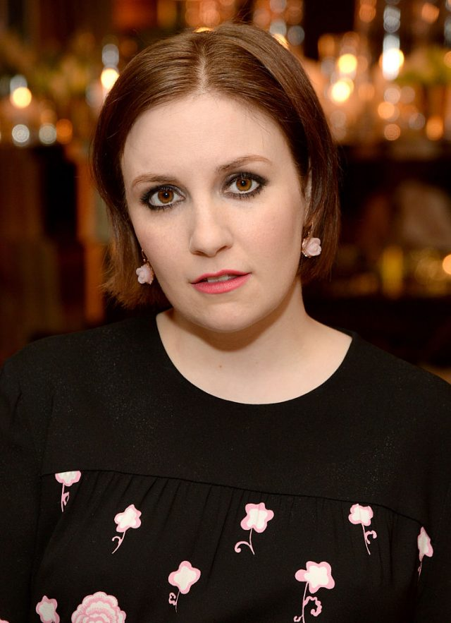 Actress Lena Dunham attends ELLE's Annual Women in Television Celebration on January 13, 2015 at Sunset Tower in West Hollywood, California. (Photo by Michael Kovac/Getty Images for Elle/Hearts On Fire)