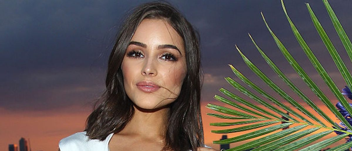 NEW YORK, NY - JUNE 09: Olivia Culpo attends the Vanity Fair And GUESS Summer Soiree held at Jimmy At The James Hotel on June 9, 2015 in New York City. (Photo by Astrid Stawiarz/Getty Images for Guess Inc)