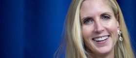 Conservative political commentator and author Ann Coulter discusses her latest book,