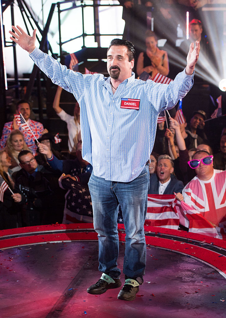 Daniel Baldwin enters the Celebrity Big Brother house at Elstree Studios in Borehamwood, England. (Photo by Ian Gavan/Getty Images)