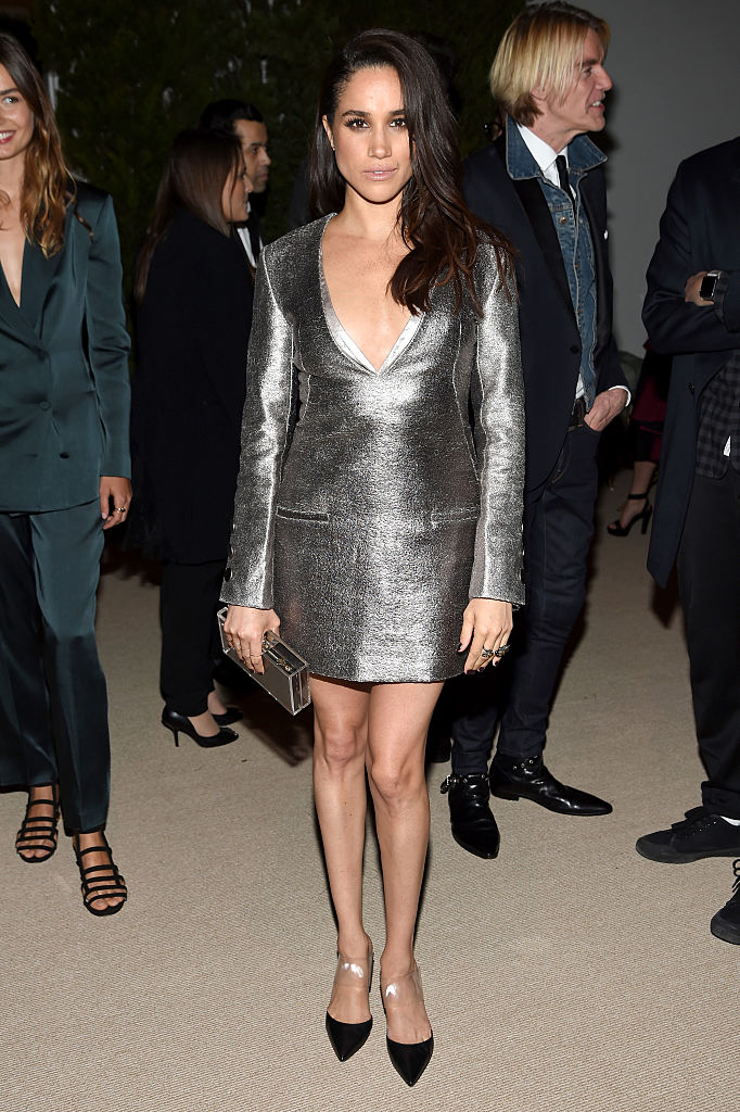 Markle attends the 12th annual CFDA/Vogue Fashion Fund Awards at Spring Studios in New York City. (Photo credit: Getty Images)