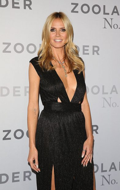 SYDNEY, AUSTRALIA - JANUARY 26: Heidi Klum attends the Sydney Fan Screening Event of the Paramount Pictures film 'Zoolander No. 2' at the State Theatre on January 26, 2016 in Sydney, Australia. (Photo by Caroline McCredie/Getty Images for Paramount Pictures)