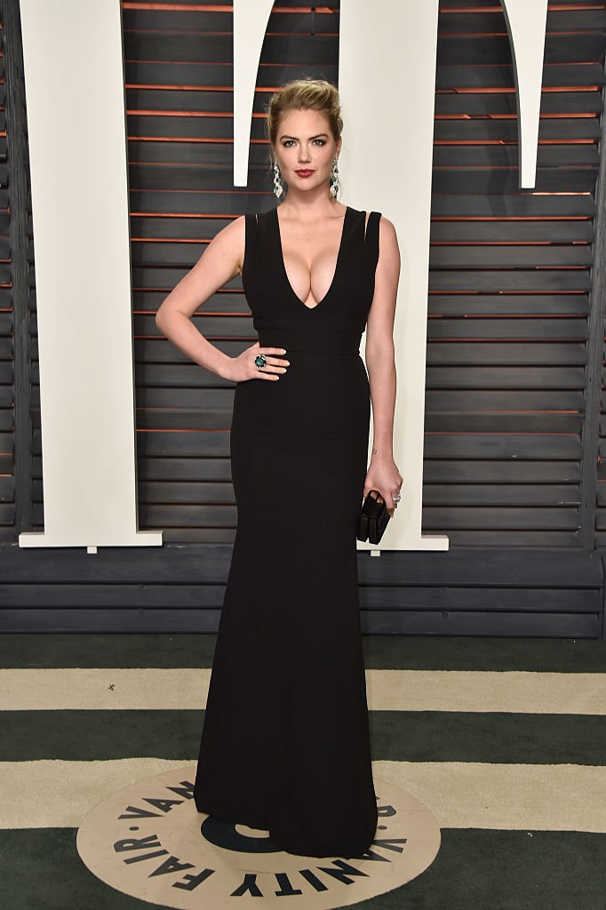 Kate Upton attends the 2016 Vanity Fair Oscar Party Hosted By Graydon Carter at the Wallis Annenberg Center for the Performing Arts on February 28, 2016 in Beverly Hills, California. (Credit: Getty Images/Pascal Le Segretain)