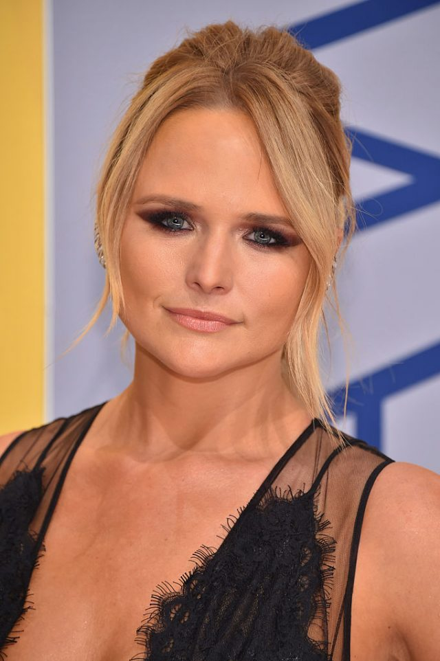 Singer-songwriter Miranda Lambert attends the 50th annual CMA Awards at the Bridgestone Arena on November 2, 2016 in Nashville, Tennessee