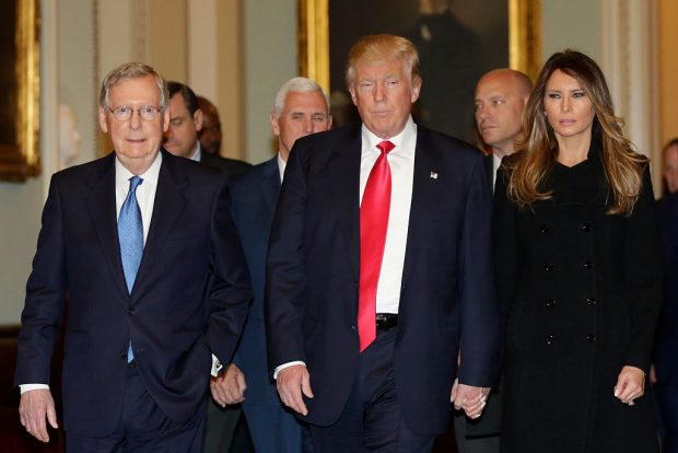 Donald Trump (Photo: Getty Images/YURI GRIPAS)