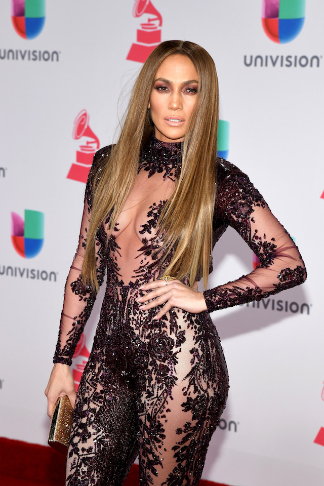 Actress/singer Jennifer Lopez attends The 17th Annual Latin Grammy Awards at T-Mobile Arena on November 17, 2016 in Las Vegas. (Photo by Ethan Miller/Getty Images )