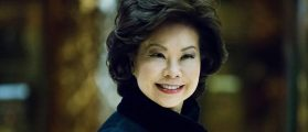 Reporter Badgers 'Woman Of Color' Elaine Chao About 'Nazi Support For President Trump' [AUDIO]