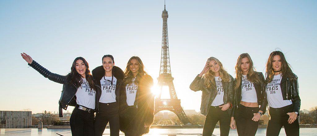 Victoria's Secret Angels in Paris (Photo credit: Getty Images)