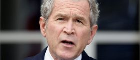 Everyone Is Talking About What George W. Bush Did At The Inauguration