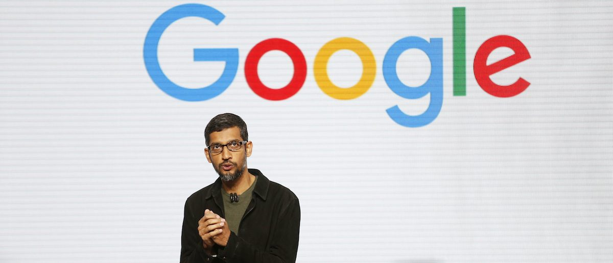Google CEO Sundar Pichai speaks during the presentation of new Google hardware in San Francisco, California, October 4, 2016. REUTERS/Beck Diefenbach