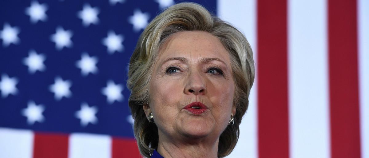 Hillary Clinton Getty Images/Jewel Samad
