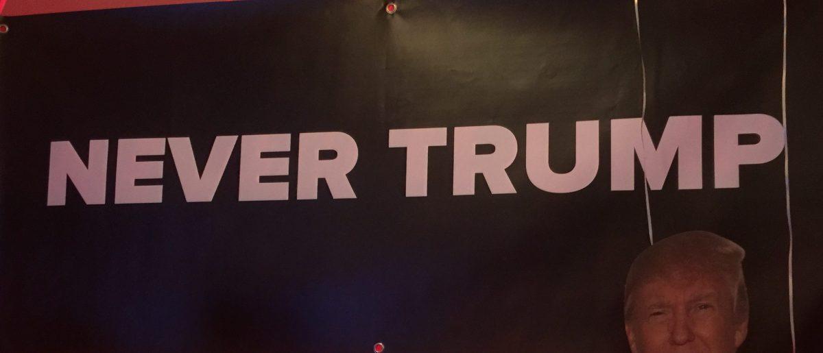 Never Trump Rally D.C. - Robert Donachie/Daily Caller News Foundation